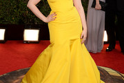 Lena Dunham Mermaid Gown