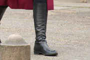 Olivia Williams Knee High Boots
