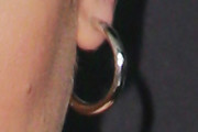 Lea Michele Gold Hoops