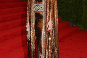 Bianca Brandolini D'Adda Beaded Dress