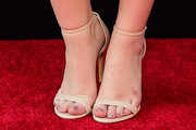 Joey King Strappy Sandals
