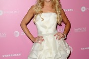 Gretchen Rossi Strapless Dress