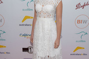 Lucy Fry Lace Dress