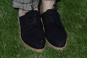 Kaley Cuoco Flat Oxfords
