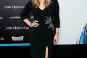 Molly Sims Form-Fitting Dress