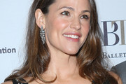 Jennifer Garner Long Side Part
