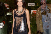 Kelly Hu Embellished Top