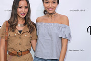 Ashley Madekwe Off-the-Shoulder Top