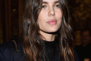 Charlotte Casiraghi Long Wavy Cut