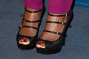 Mary J. Blige Peep Toe Pumps