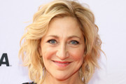 Edie Falco Short Wavy Cut