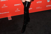 Bella Thorne Over the Knee Boots
