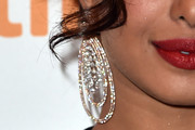 Priyanka Chopra Crystal Chandelier Earrings