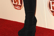 Stevie Nicks Knee High Boots