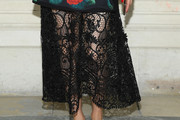 Olivia Palermo Sheer Skirt