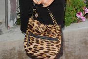 Jaclyn Smith Printed Shoulder Bag