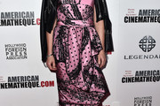 Noomi Rapace Strapless Dress