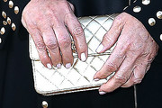 Kris Jenner Quilted Clutch