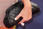 Amanda Bynes Leather Clutch
