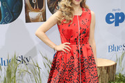 Amanda Seyfried Print Dress