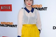 Amber Tamblyn Loose Blouse