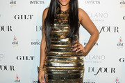 Angela Simmons Beaded Dress