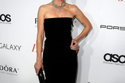 Anne Heche Strapless Dress