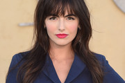 Camilla Belle Long Straight Cut with Bangs