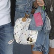 Ashley Tisdale Printed Bowler Bag