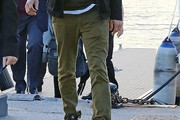 Ashton Kutcher Chinos