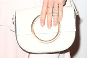 Missi Pyle Leather Clutch