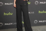 Emily Hampshire Wide Leg Pants