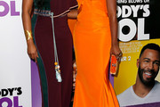 Tika Sumpter Off-the-Shoulder Dress