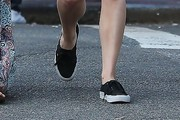 Chloe Grace Moretz Canvas Sneakers