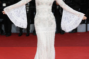 Gong Li Off-the-Shoulder Dress