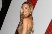 Bar Refaeli Long Partially Braided