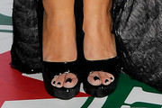 Barbara Bermudo Peep Toe Pumps