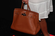 Adrienne Williams Leather Tote