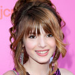 Bella Thorne Messy Updo