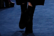 Ellie Bamber Mid-Calf Boots
