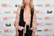 Clemence Poesy Loose Blouse