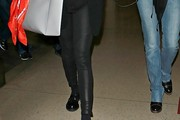 Dakota Johnson Leather Pants