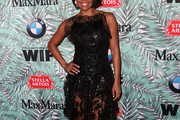 Gabrielle Union Little Black Dress