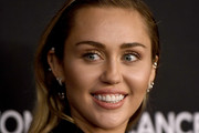 Miley Cyrus Long Side Part