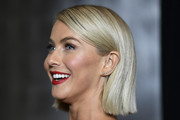 Julianne Hough Side Parted Straight Cut
