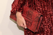 Poppy Delevingne Printed Clutch