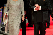 Camilla Parker Bowles Beaded Dress