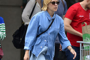 Chloe Sevigny Button Down Shirt