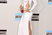 Christina Aguilera Cutout Dress