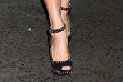 Courtney Cox Ankle Strap Pump
